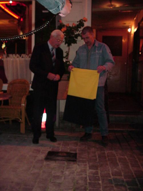 Foto Onthulling plaquette
