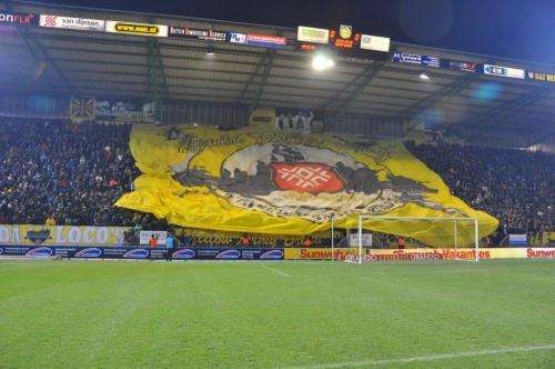 Foto Megadoek Yellow Army